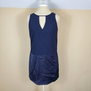 Banana Republic Navy Sleeveless Dress